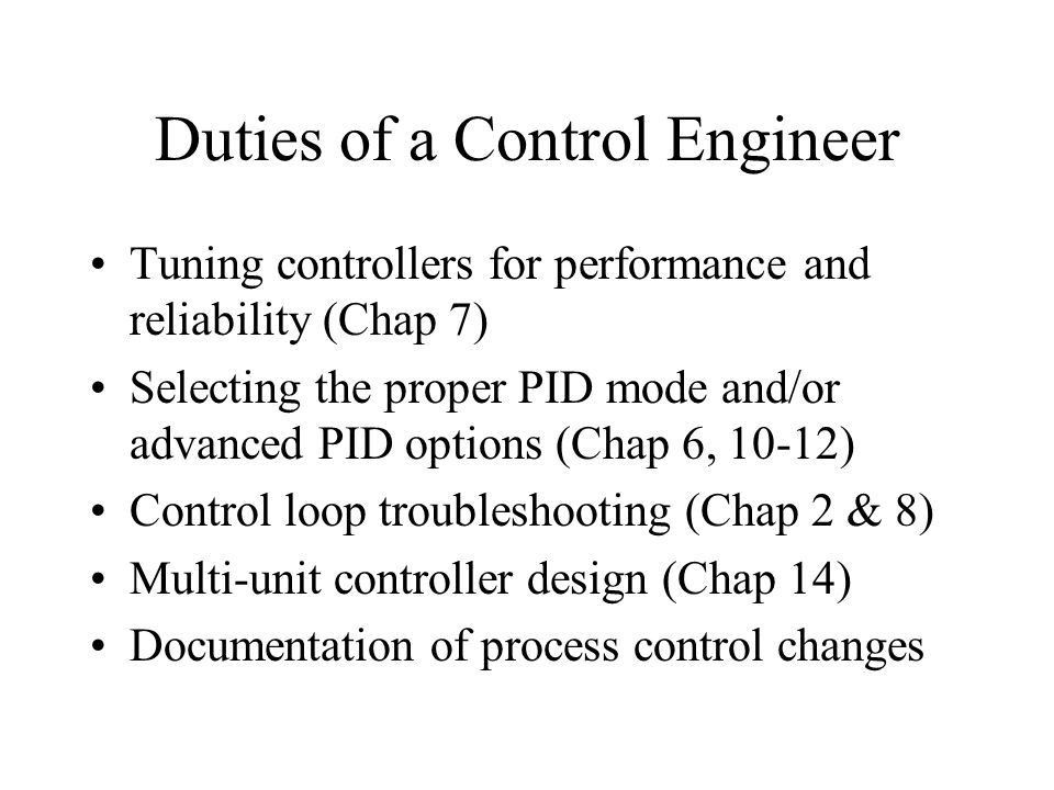 Chemical and Bio-Process Control - ppt video online download