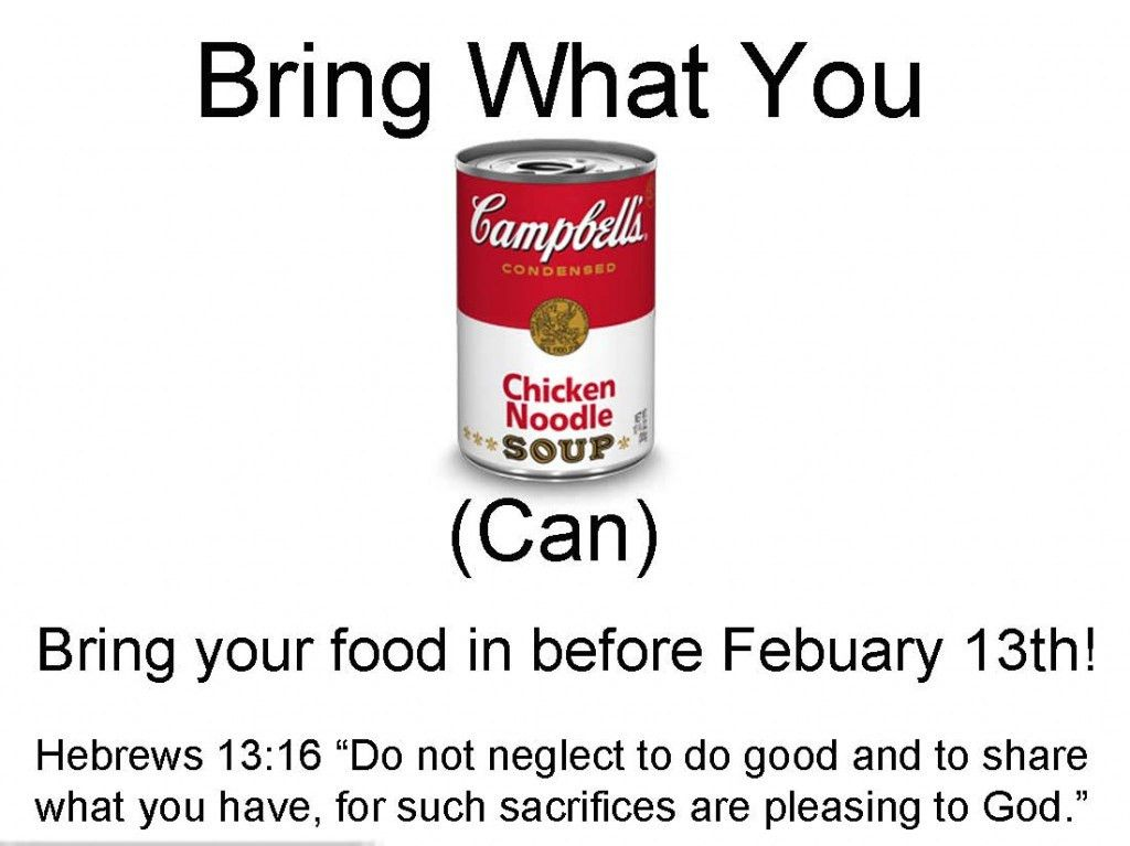 9 Best Images of Canned-Food Drive Flyer - Food Drive Canned Goods ...