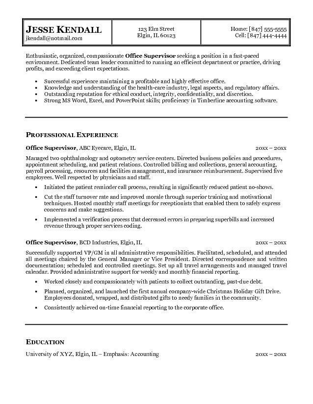 Free Personal Assistant Resume Example