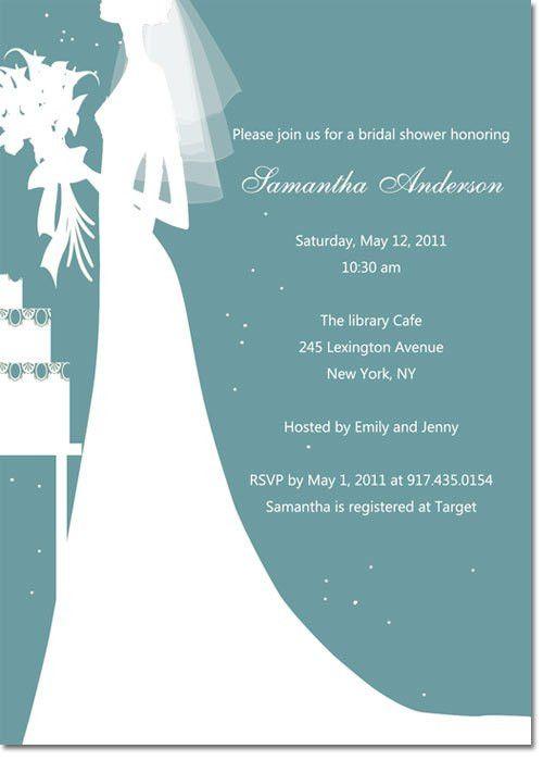 Printable cheap bridal shower invitations EWBS016 as low as $0.94 |