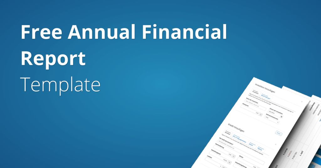 Annual Financial Report Template | Fundivo