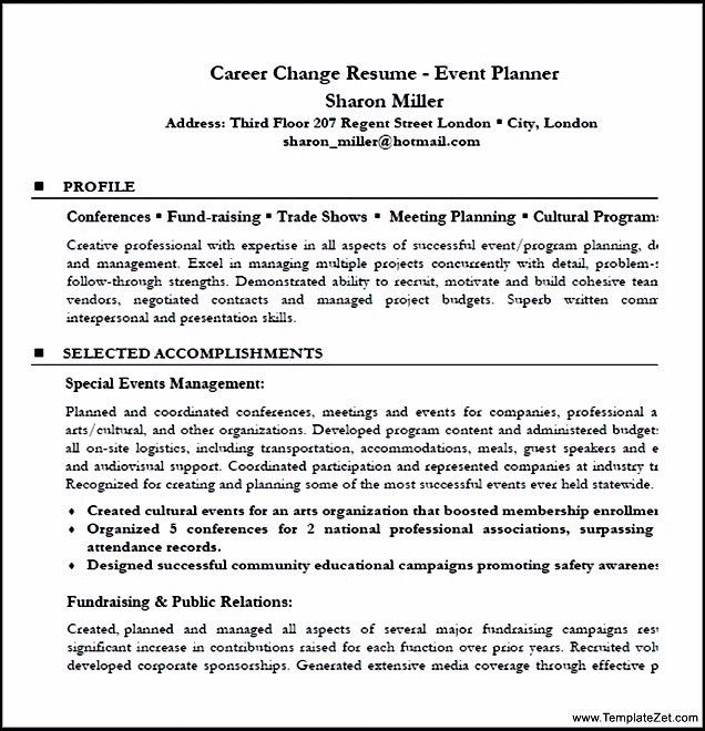 click here to download this event planner resume template httpwww ...