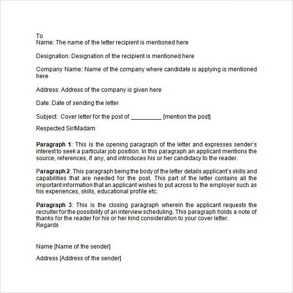 Application letter - 9+ Free Doc Download