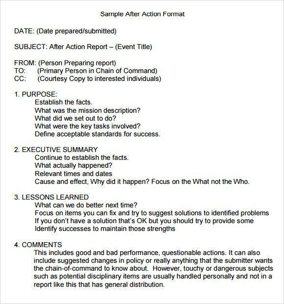 18+ [ Aar Format Template ] | Military Memorandum Pictures To Pin ...