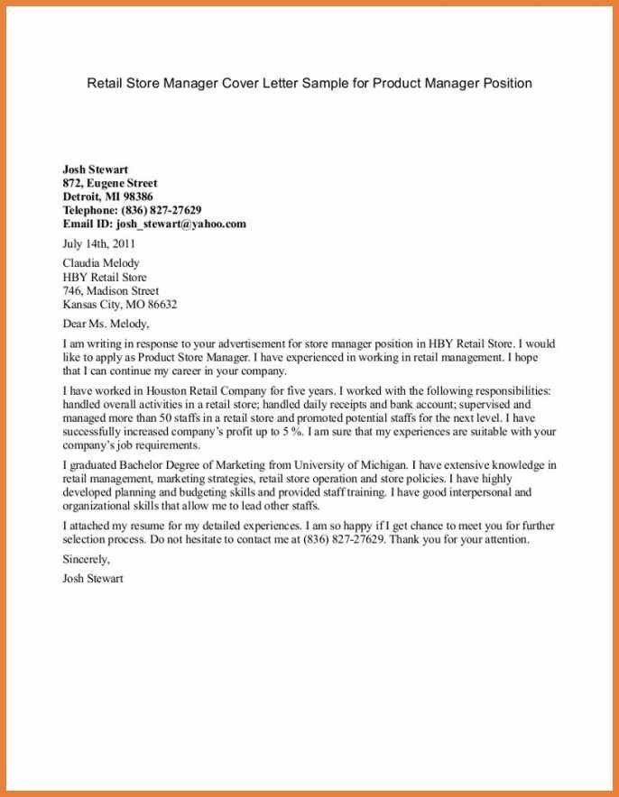 Product Proposal Letter. Proposal Cover Letter Template - Sample ...
