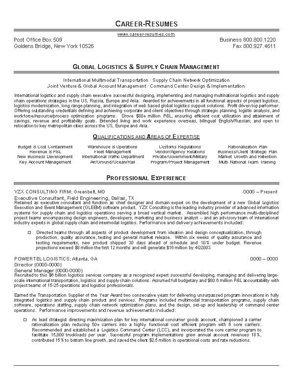 Resume Writing Template | Writing Resume Sample