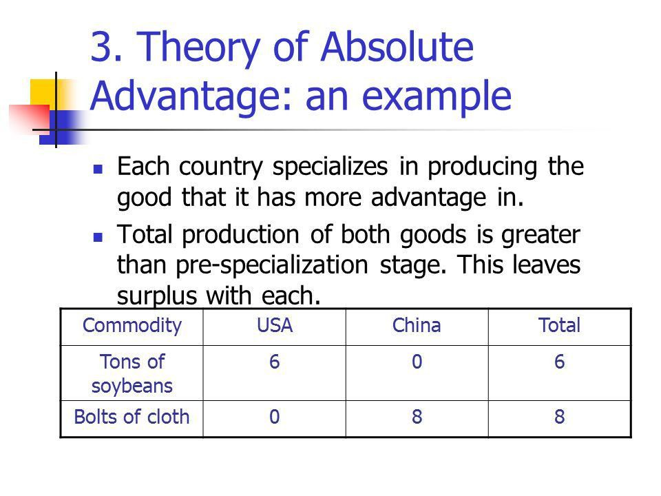 Chapter 3 Theories of International Trade and Investment. - ppt ...