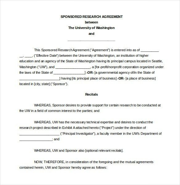 10+ Legal Agreement Templates – Free Sample, Example, Format ...