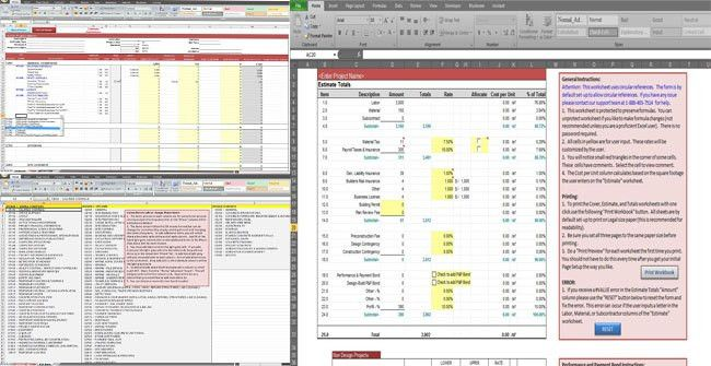 Download General Construction Estimate Template in Excel Format ...