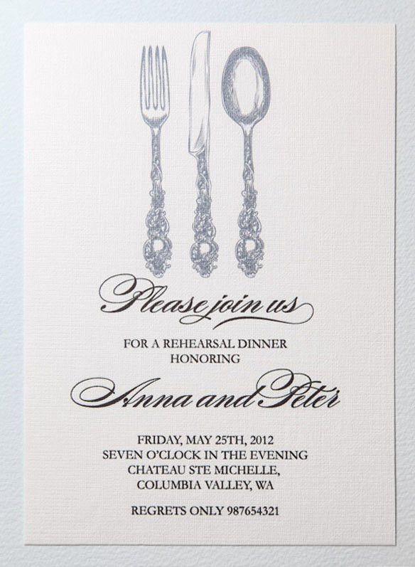 Free Dinner Invitation Template | cimvitation