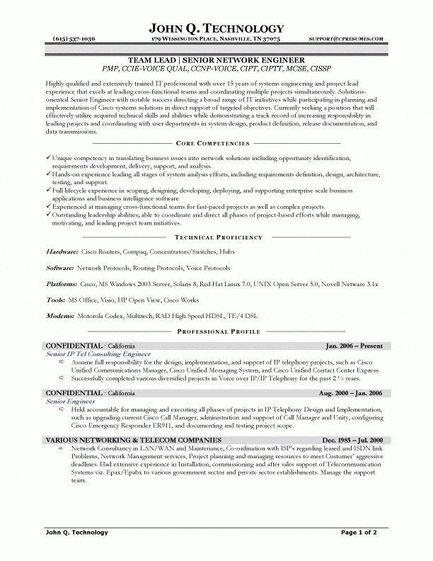Network Engineer Resume Sample Networking Resume Naukri Free ...