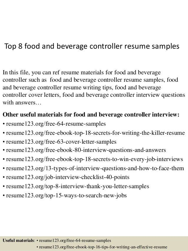 top-8-food-and-beverage-controller-resume-samples-1-638.jpg?cb=1431166289