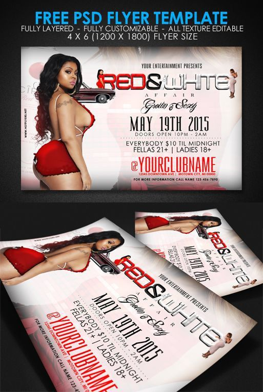 13 best Free Flyer Templates images on Pinterest | Party flyer ...