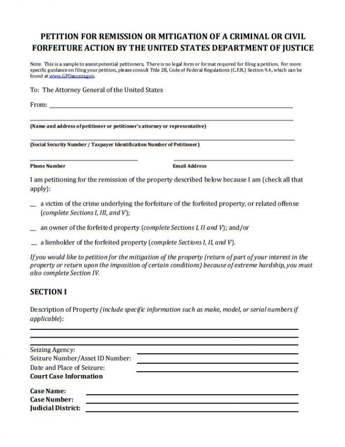 10+ Printable Petition Template Examples | Templates Assistant