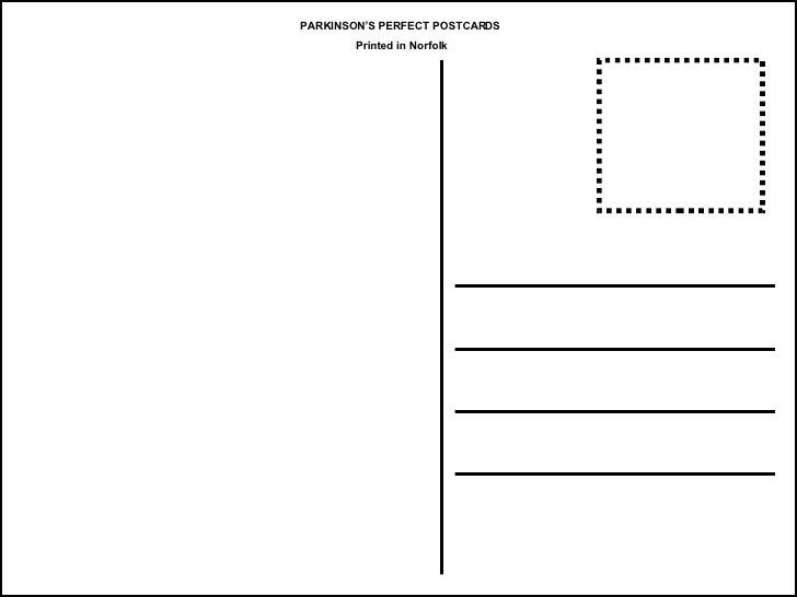 Fresh Postcard Printable Template | pikpaknews