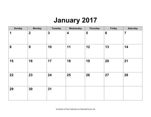 monthly calendar word template - Template