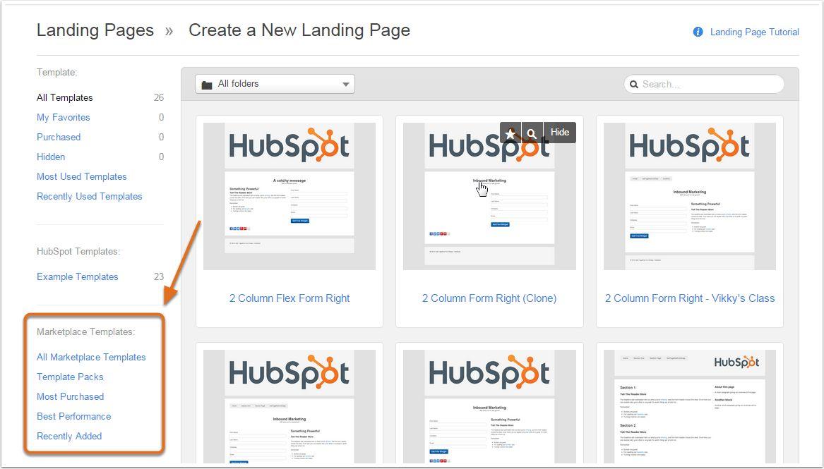 Hubspot Template Marketplace. marketplace hubspot. marketplace ...