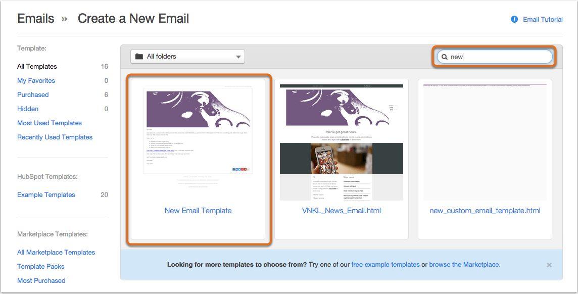 Hubspot Email Templates | Template Design