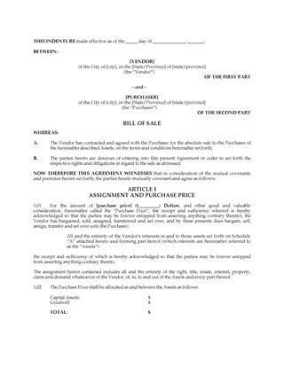 Bill of Sale Forms | Legal Forms and Business Templates | MegaDox.com