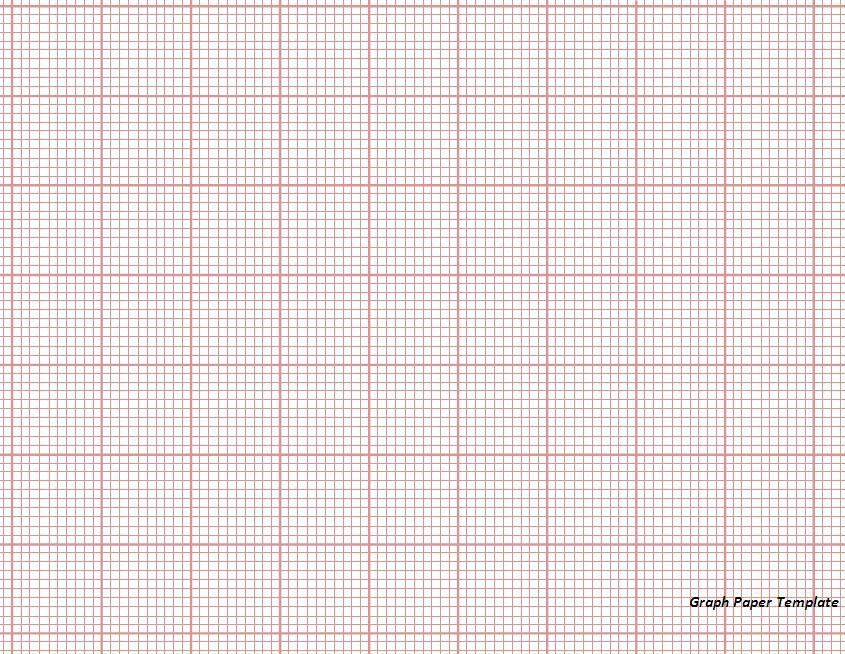 Graph Paper Template - Word Excel Formats