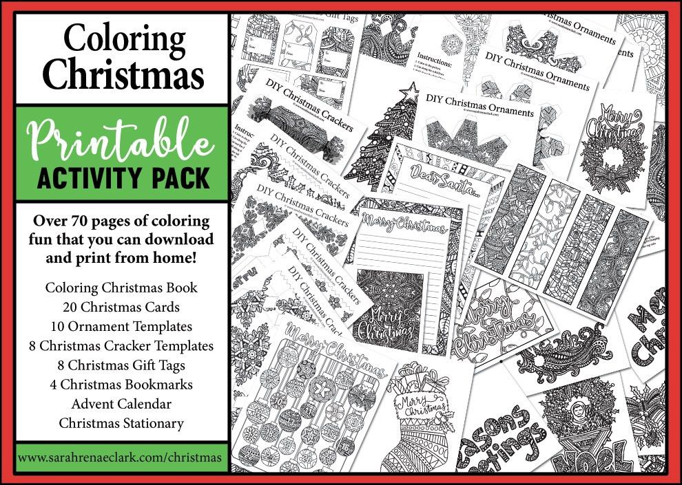 Christmas Printable Activity Pack