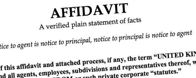 Affidavit and the law in India - iPleaders