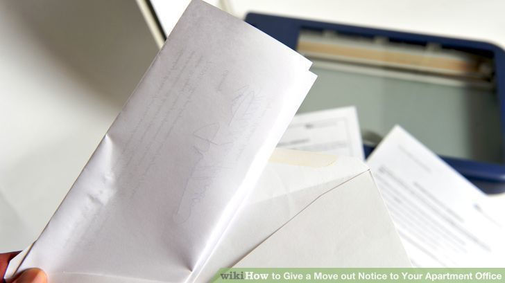 How to Give a Move out Notice to Your Apartment Office | Artprise ...