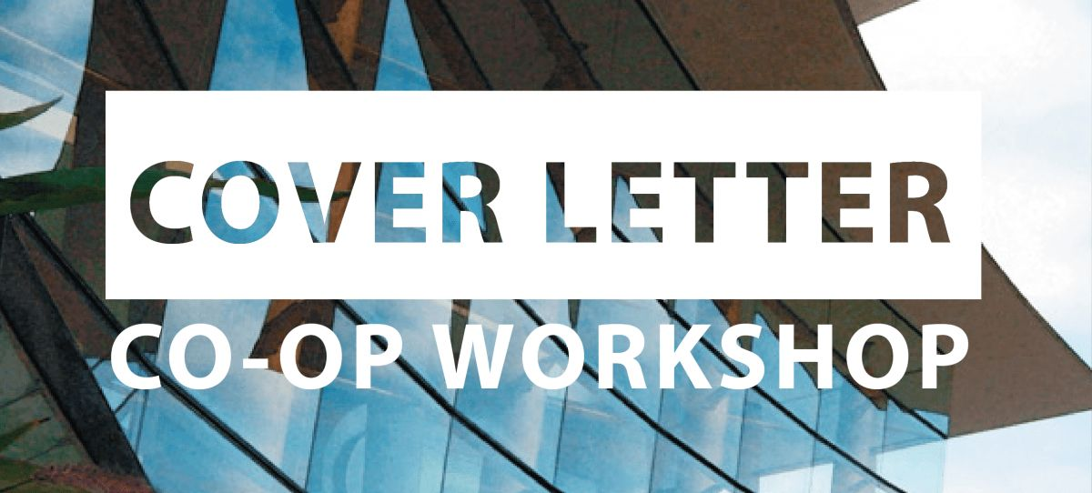 Cover Letter Workshop POST | SFU OLC