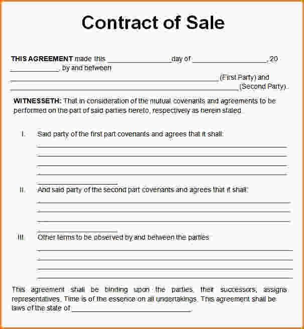 Sales Contract Sample.Used Car Sales Contract.gif - Loan ...