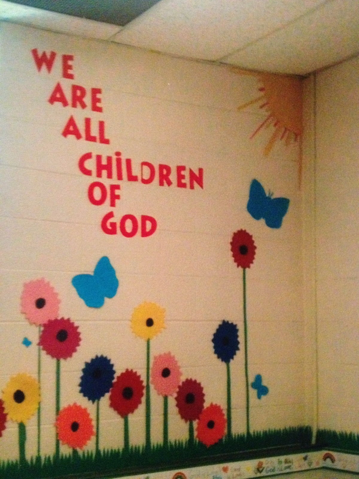 Wall Decor For Sunday School : Images about sprouts on church nursery