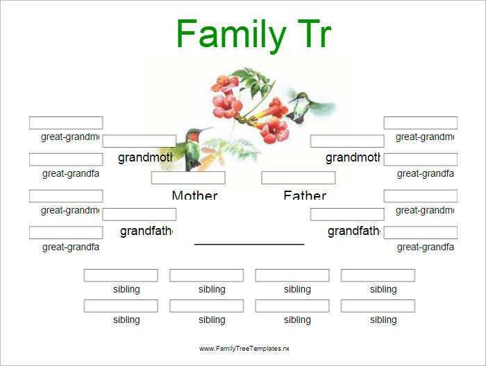Family Tree Templates Free & Premium   Creative Template
