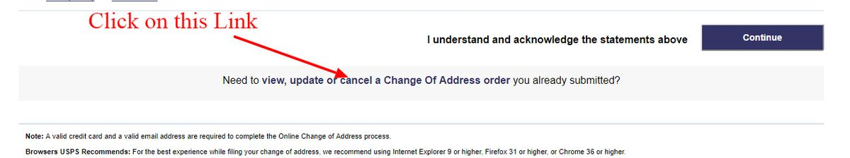 How to Stop or Cancel USPS Mail Forwarding   Update, Modify   USPS ...