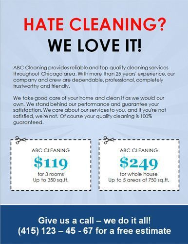 We-love-cleaning-with-coupons | House Cleaning Ads | Pinterest ...