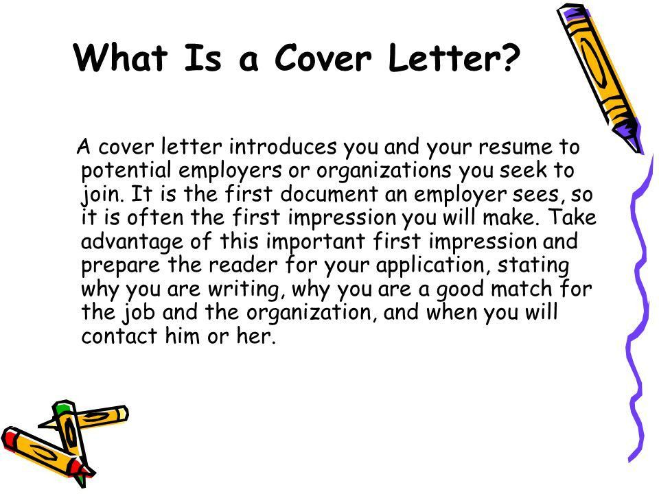A Basic Guide to Writing Great Cover Letters - ppt download