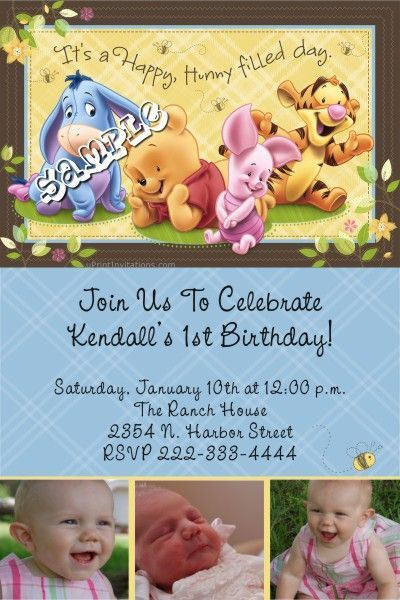 9 best Birthday Invitations images on Pinterest | Birthday party ...