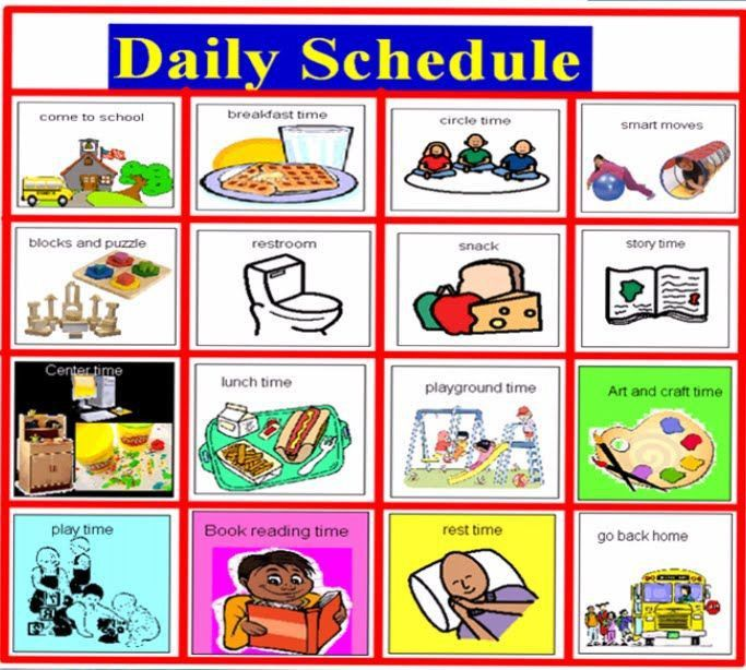 40 best visual schedule images on Pinterest | Classroom ideas ...