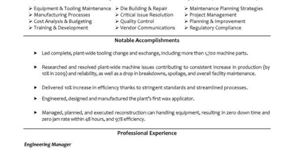 Aerospace Resume Objective Aerospace Engineering Resume Sample ...