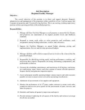 Project RESPOND: Regional Training Manager Job Description ...
