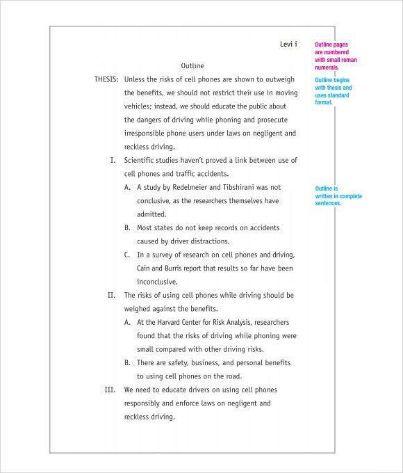 Mla narrative essay format