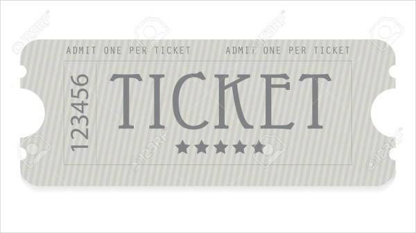 6+ Entrance Ticket Templates - Free PSD, AI, Vector EPS Format ...
