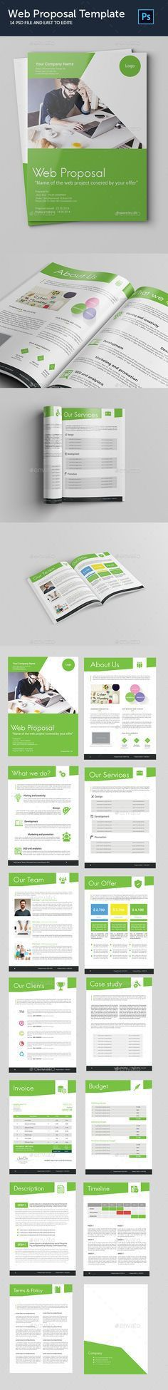 Web Application Design Proposal Template | Proposal templates ...