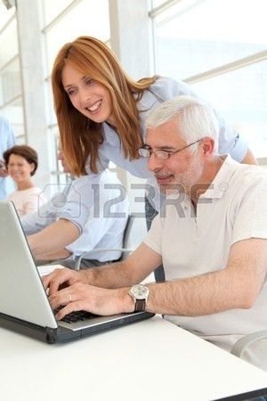 Computer Training Senior Images & Stock Pictures. Royalty Free ...