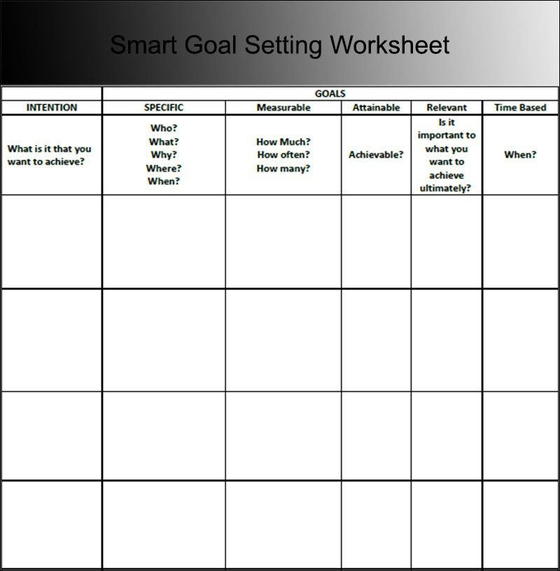 9+ Goal Sheet Templates - Free PDF Documents Download | Creative ...
