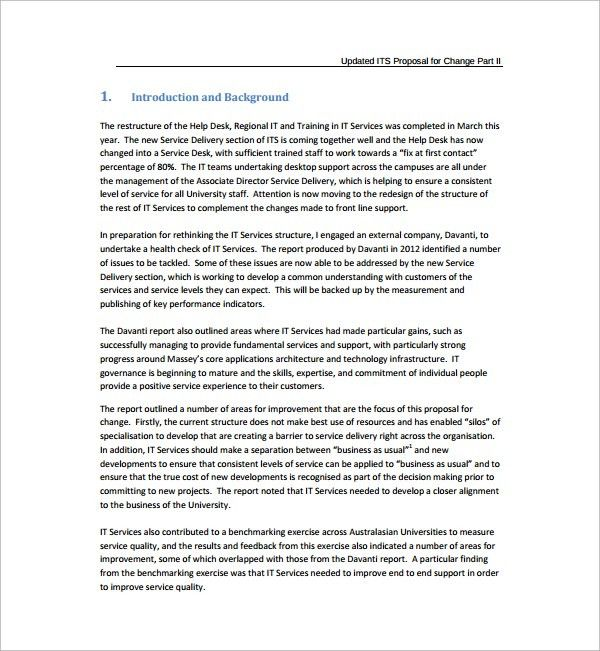 Sample Technology Proposal Template - 7+ Free Documents in PDF