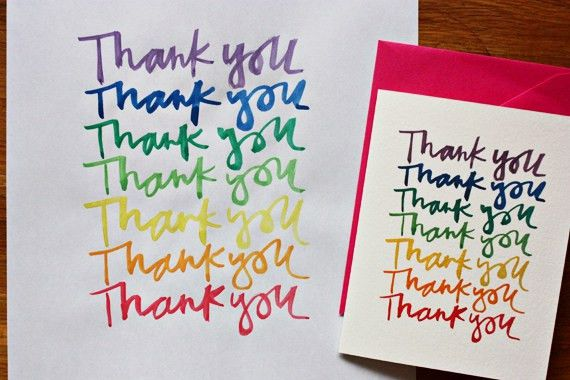 enJOY it by Elise Blaha Cripe: rainbow thank you cards (& a free ...