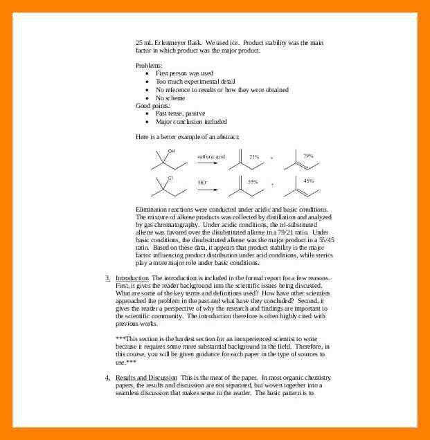 6+ ib chemistry lab report example   invitation format