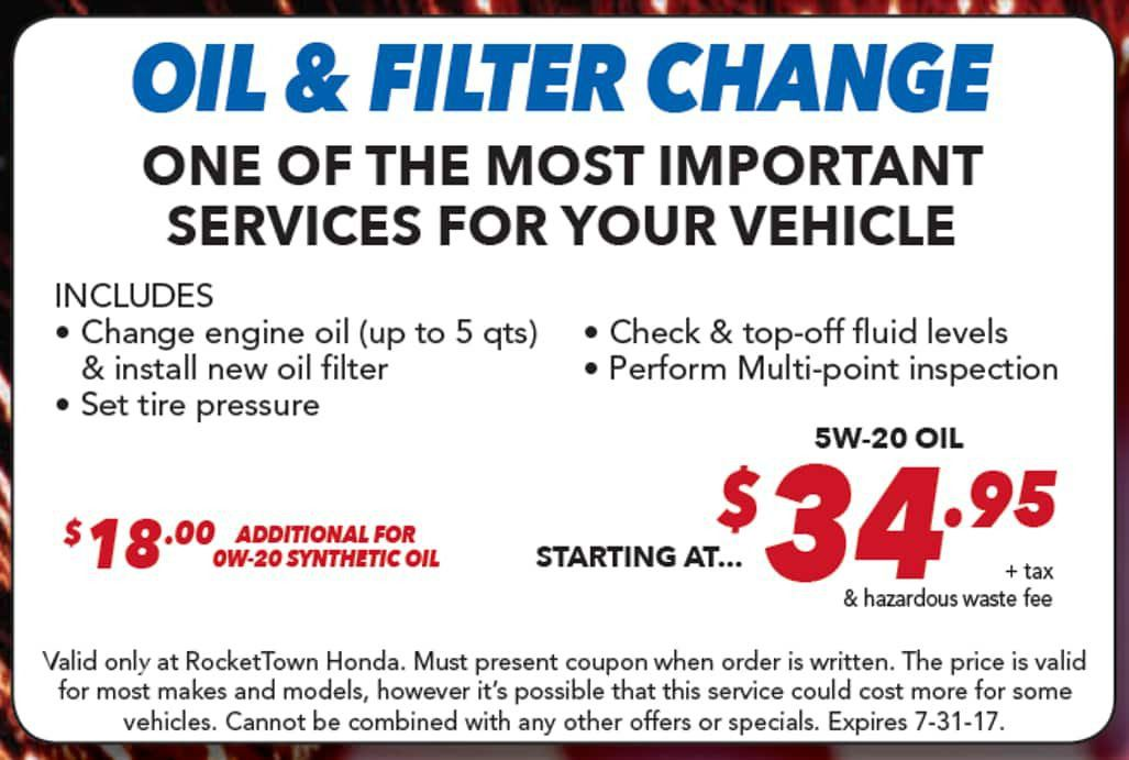 Best oil change near me? Find fast service at RocketTown in Lompoc