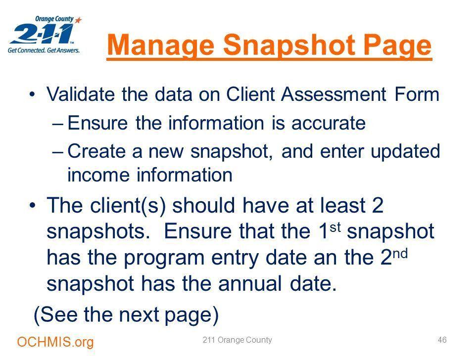 2-1-1 Orange County Homeless Management Information System (HMIS ...