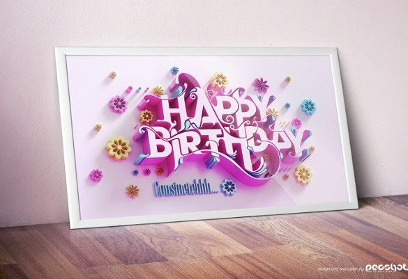 21+ Birthday Card Templates – Free Sample, Example, Format ...