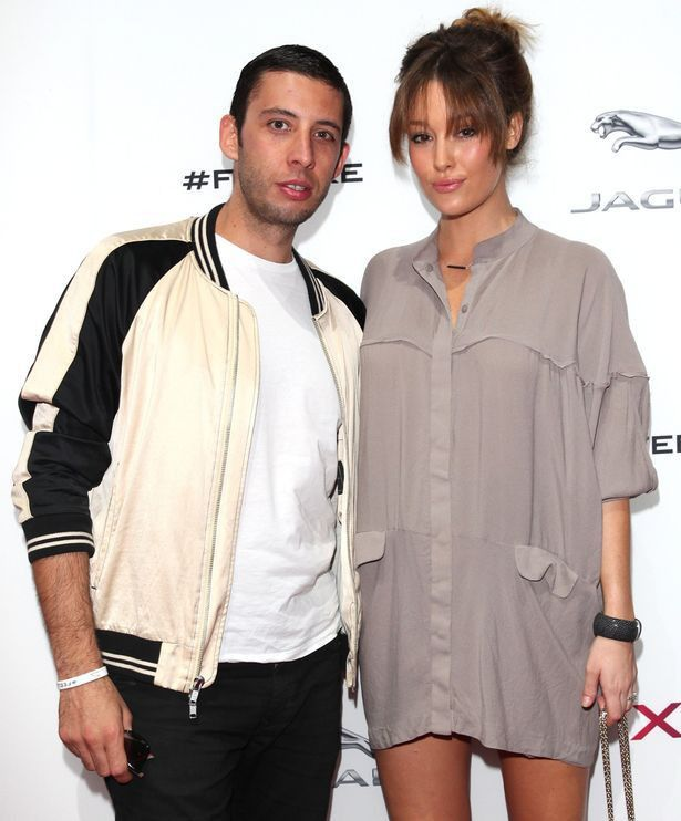 Example is now a daddy! Elliot Gleave and wife Erin McNaught ...